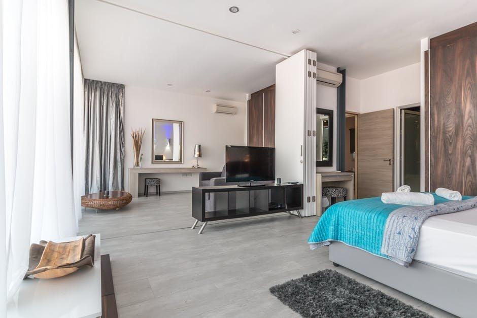 Gạch lát nền cho phòng ngủ đảm bảo được sự hài hòa cho không gian thiết kế