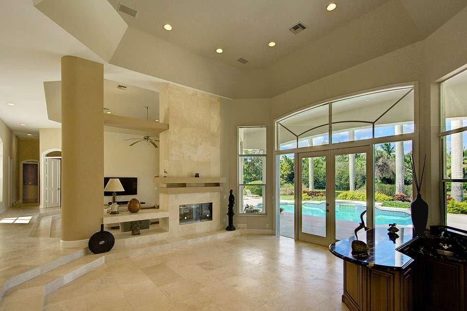 Gạch men sử dụng cho cả lát nền và ốp tường