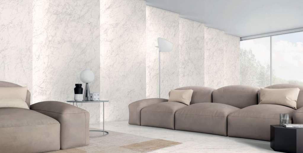 gạch ốp tường cho phòng khách đẹp sang trọng