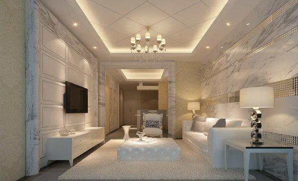Bức tường sử dụng đá marble