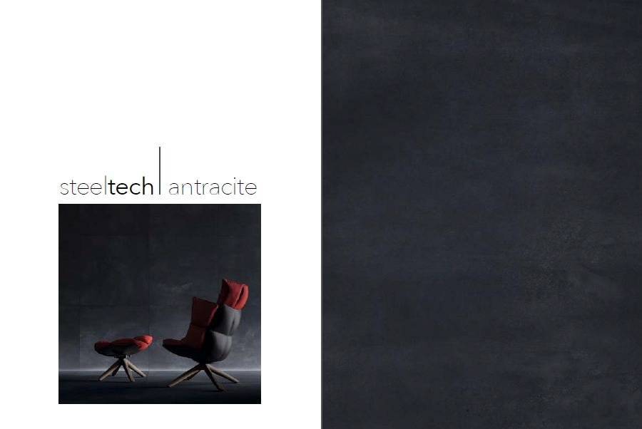 Gam màu Steeltech Antracite - đen nhám