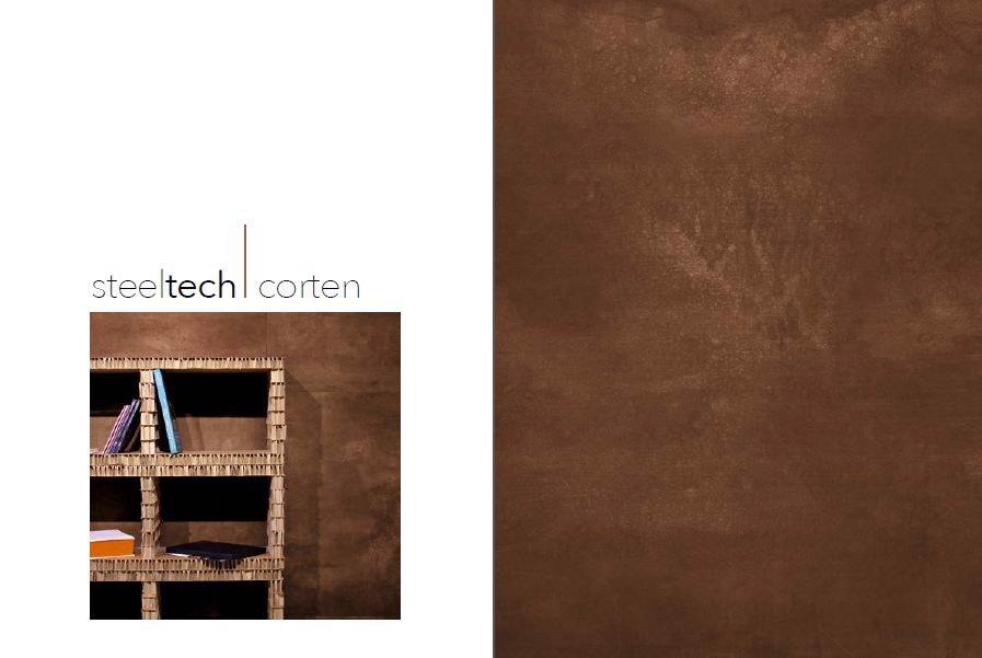 Gam màu Steeltech Corten - nâu đồng