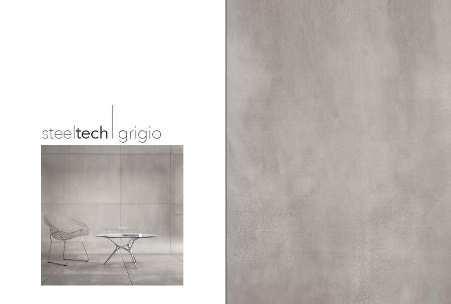 Gam màu Steeltech Grigio - xám xi măng