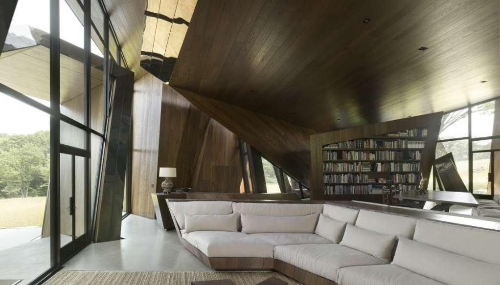 Những góc riêng tư được thiết kế với cửa kính rộng và ánh sáng tự nhiên