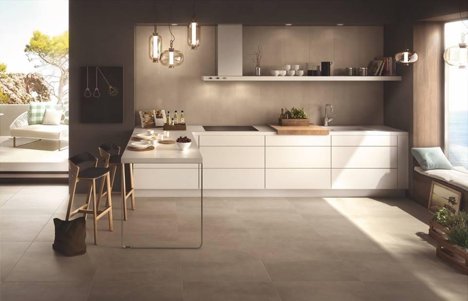 Chọn gạch ốp tường cho không gian bếp
