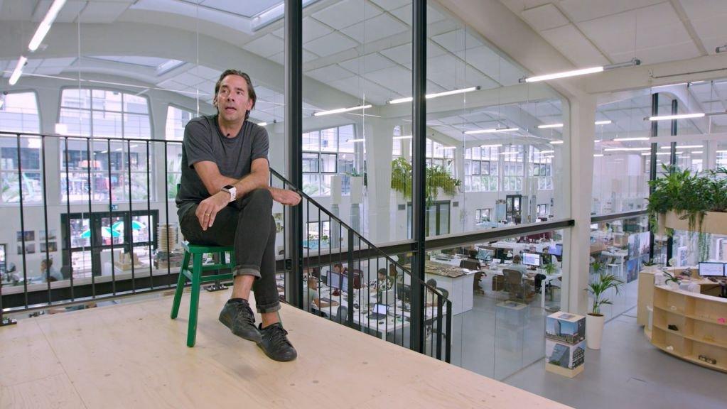 Kiến trúc sư Jacob Van Rijs nói về ý kiến của mình trong Past Present Future