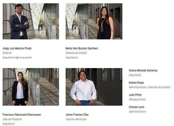 Jorge Marsino Prado với sự kết hợp của nhiều kiến trúc sư tài năng