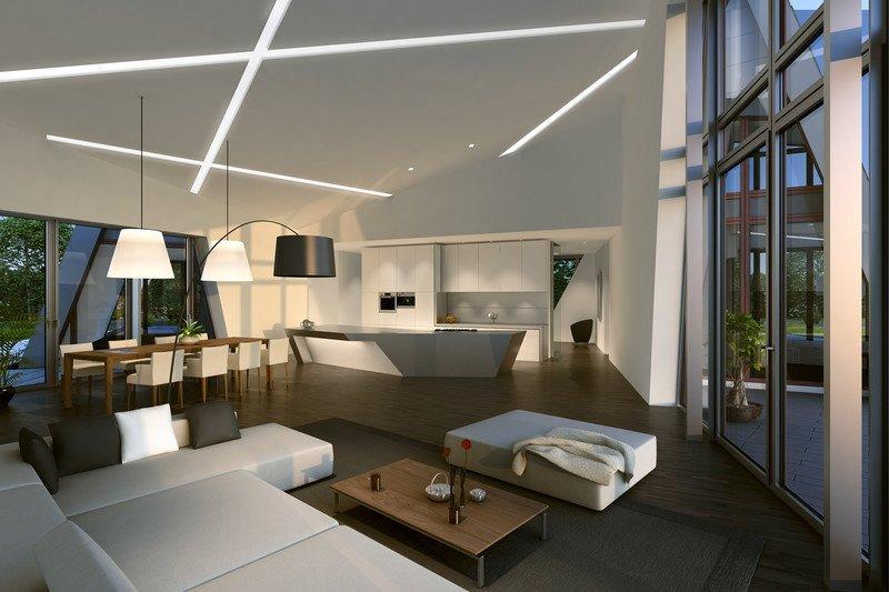 Không gian sống đáp ứng đầy đủ các tiêu chuẩn cao nhất về thiết kế