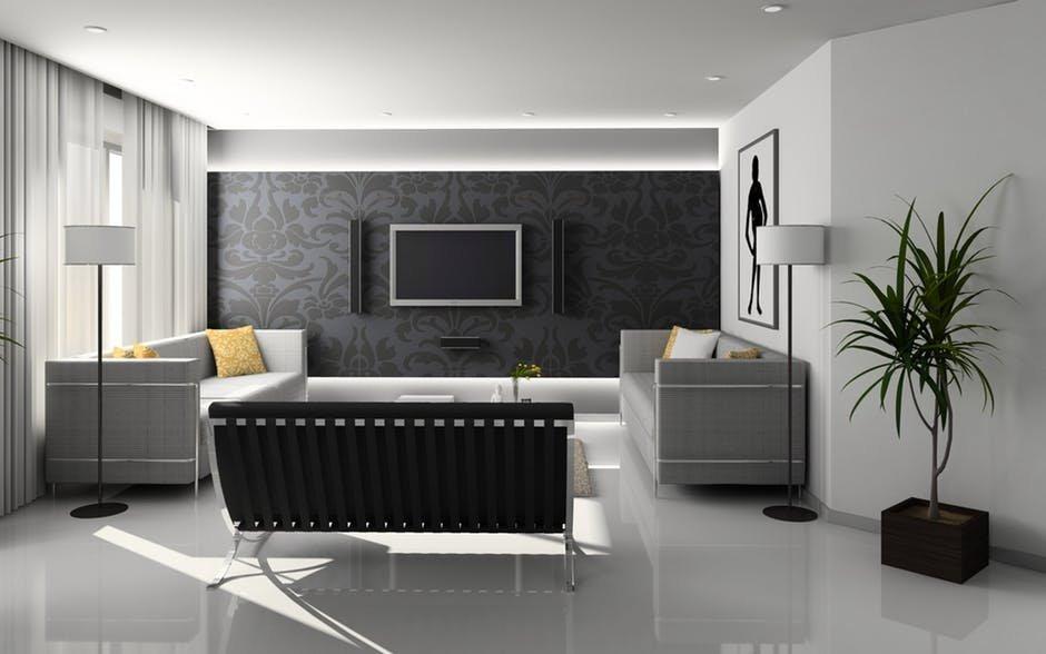 Không gian trong phòng khách chung cư