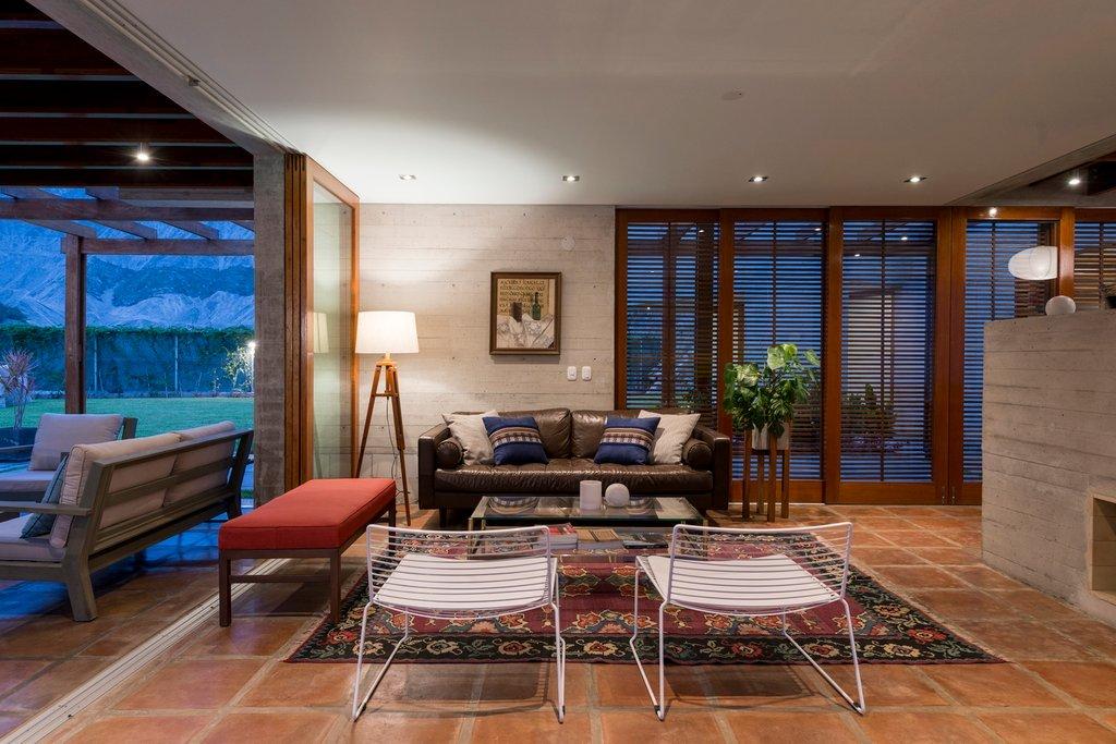 Khu vực phòng khách của ngôi nhà