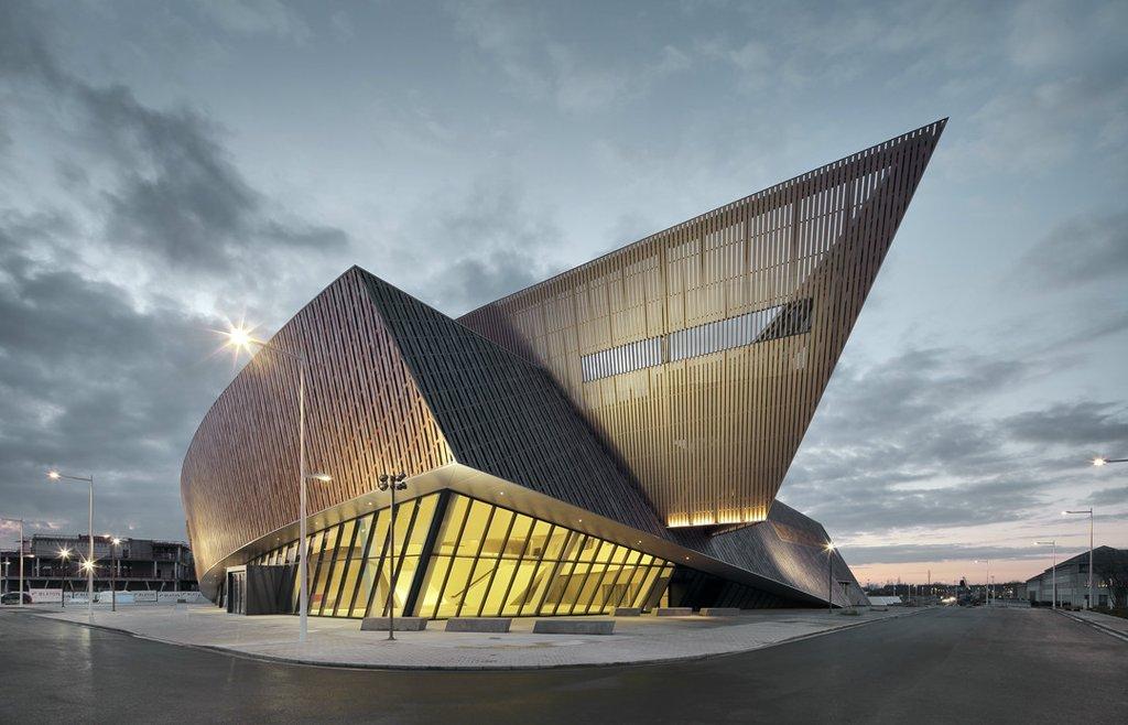 MICX được xem là biểu tượng kiến trúc cho thành phố Mons tại Bỉ
