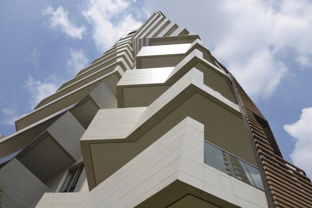 Milano CityLife của Daniel Libeskind