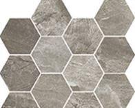 mosaico Esagonette mix grey