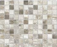 Mosaico Su Rete Silver