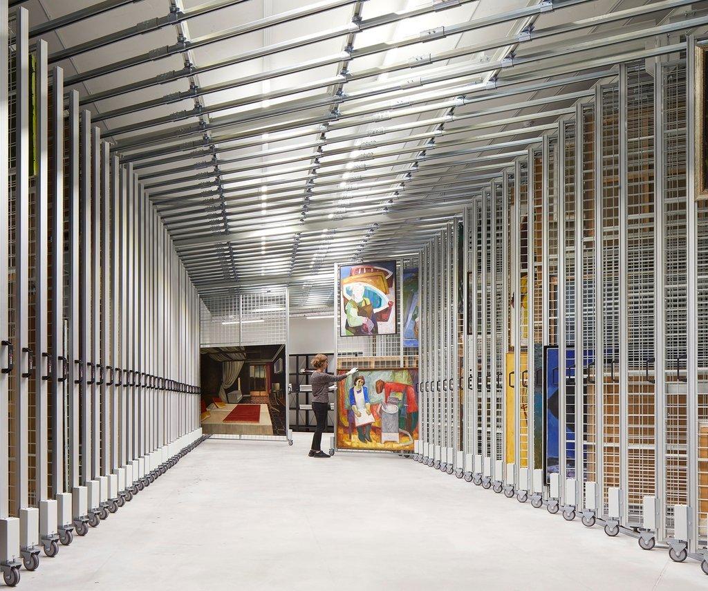 Một không gian gần đại sảnh sẽ trưng bày các tác phẩm điêu khắc