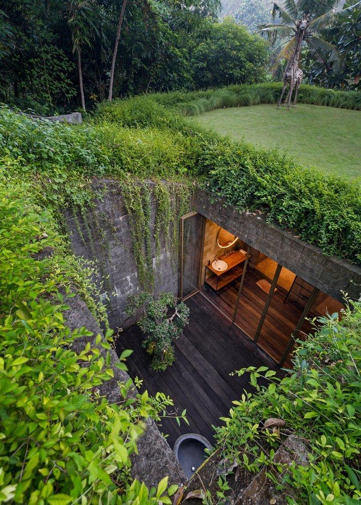 một kiến trúc kết nối với môi trường xung quanh và tích hợp tốt với địa hình của khu vực