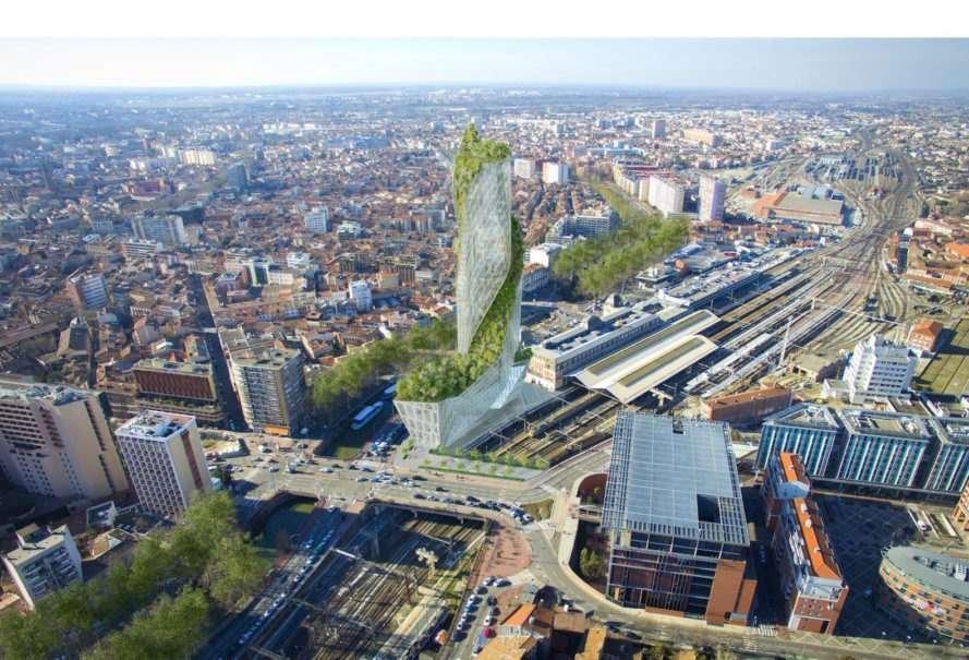 Dự án nằm ở trung tâm và trở thành tòa nhà chọc trời mới nhất trong thành phố