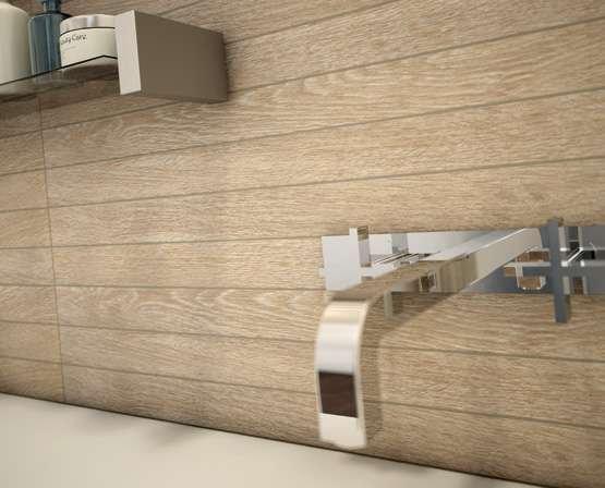 Newood có thể được sử dụng cho cả không gian phòng tắm