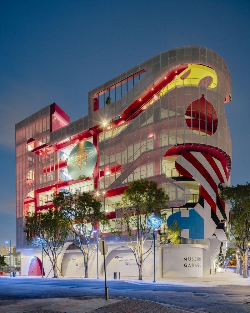 Tổng quan bên ngoài của dự án bảo tàng Miami