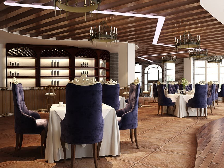 Phong cách thiết kế nội thất nhà hàng Châu Âu