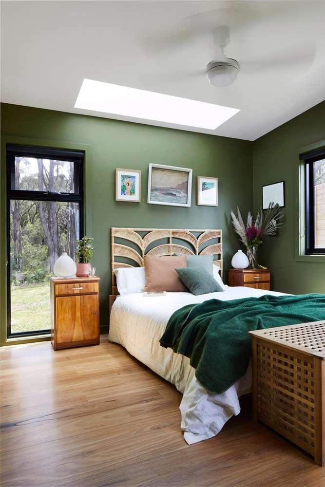 Phòng ngủ thiết kế phía Tây đảm bảo sự riêng tư