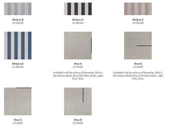 R - Evolution còn được mở rộng thiết kế với gạch trang trí bao gồm 8 các mẫu