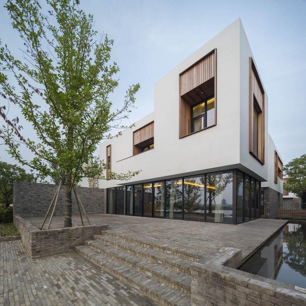 Thiết kế độc đáo và ấn tượng của biệt thự Yangcheng Lake