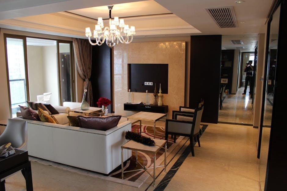 Lựa chọn đồ nội thất cho phòng khách chung cư