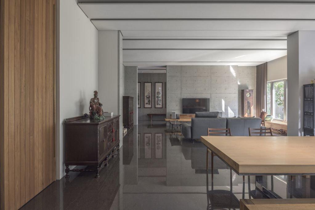Thiết kế bên trong của ngôi nhà tạo sự ấm áp