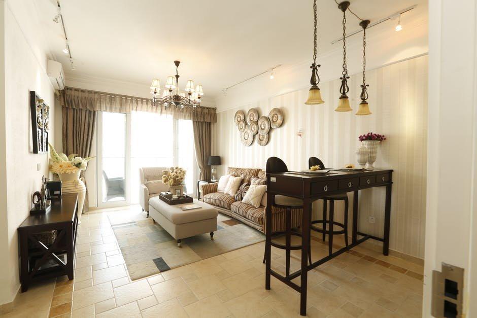 Thiết kế hệ thống chiếu sáng trong không gian phòng khách