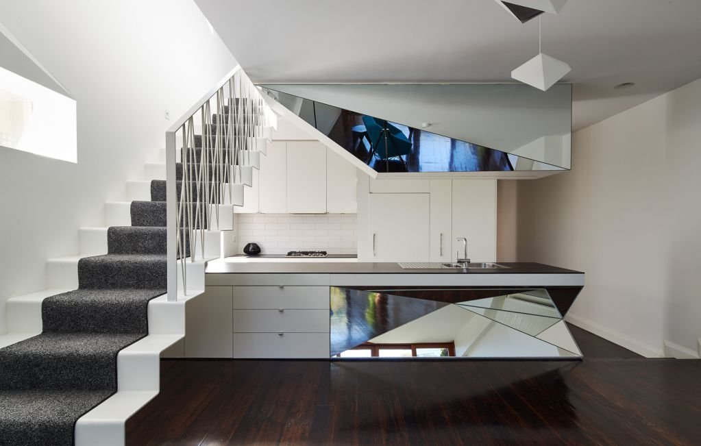 Thiết kế mang tính hiện đại của ngôi nhà K2