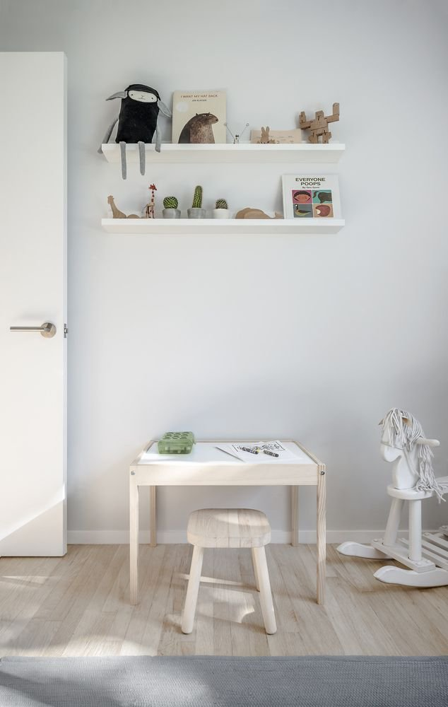 Nội thất thiết kế đơn giản được sử dụng cho không gian tòa nhà