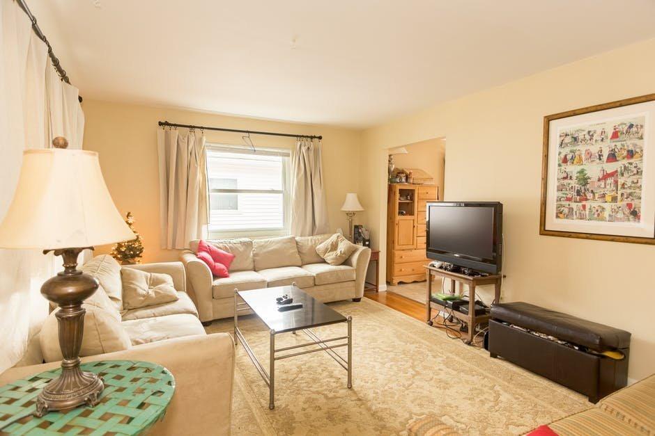 Thiết kế phòng khách chung cư hạng trung