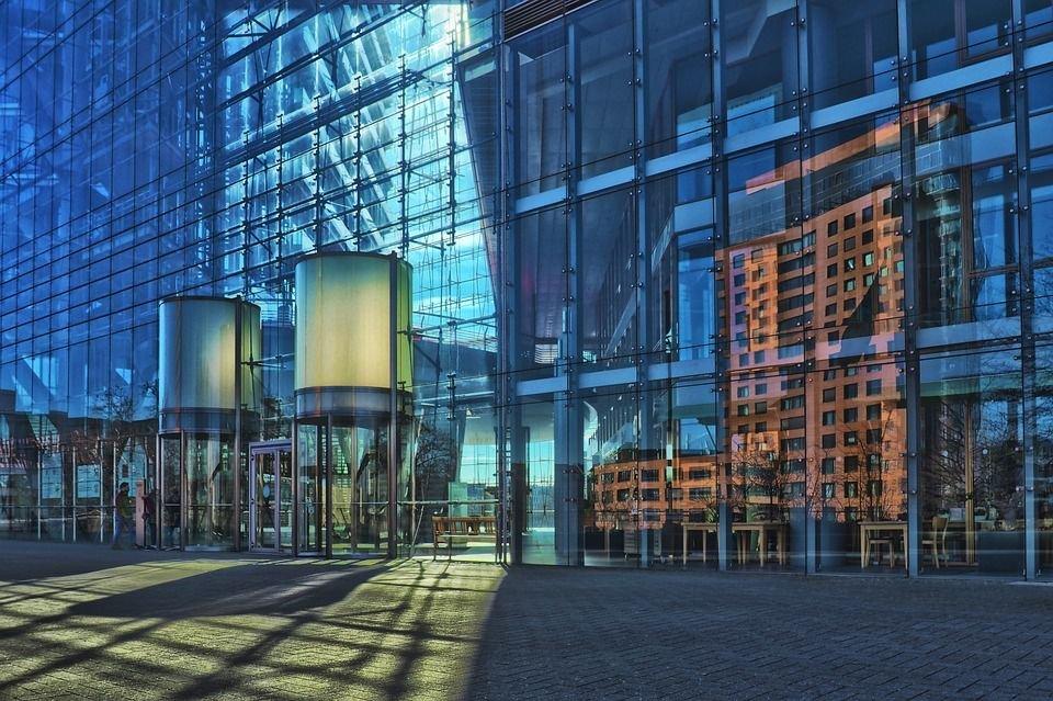 Thiết kế sảnh cho tòa nhà cao tầng hiện đại