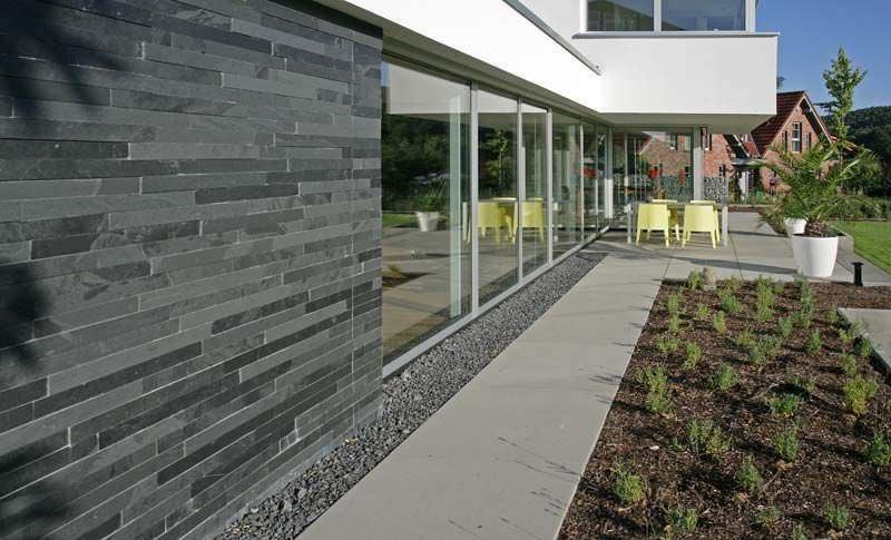 Thiết kế tường rào gạch xây cho nhà phố