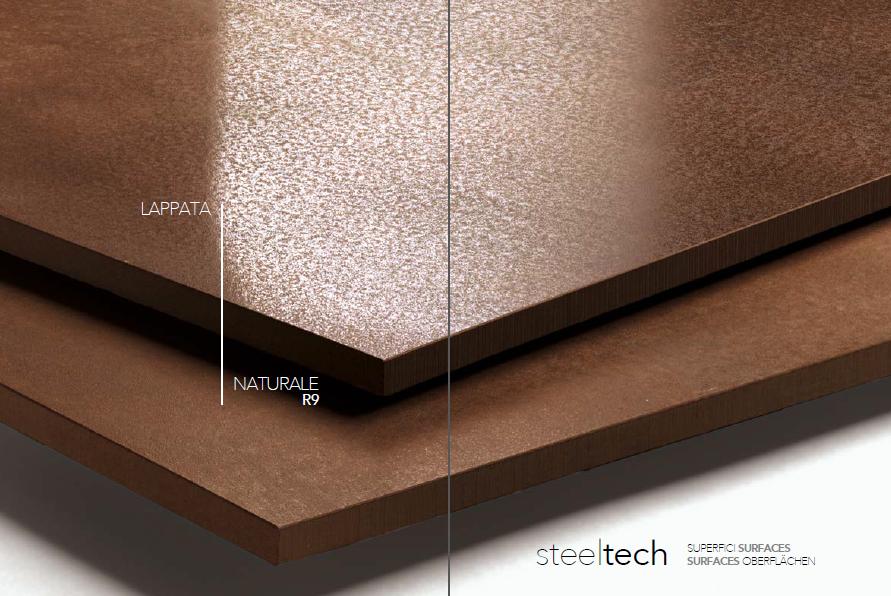 Thiết kê được ứng dụng sáng tạo với hai bề mặt bóng và mờ