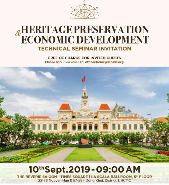 Thời gian và địa điểm sự kiện ngày 10/09/2019