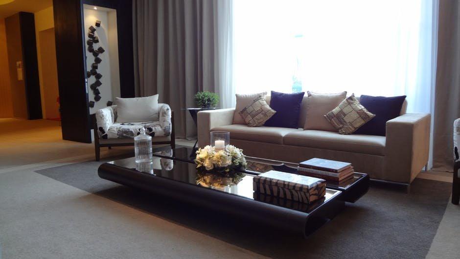 Vị trí của phòng khách chung cư