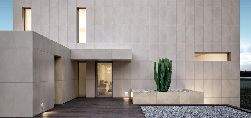 vừa sử dụng ốp lát vừa trang trí cho cả hai không gian ngoại thất và nội thất